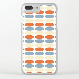 Polka Squats Clear iPhone Case