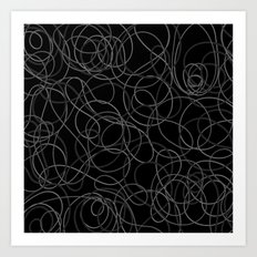 Time is elastic Art Print