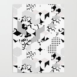 In between the lines and dots Poster