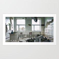 Chernobyl - лікарня IV Art Print