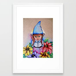 Gnome 2 Framed Art Print