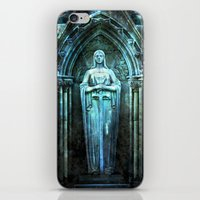 bible verses iPhone & iPod Skins featuring The Dying Verses 2 by Helheimen Design