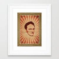 tarantino Framed Art Prints featuring Tarantino by Durro