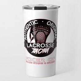 Gift for Lacrosse Mom aka The Fixer Travel Mug