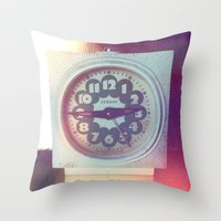 soviet Throw Pillows featuring Soviet Vintage by Karolis Butenas