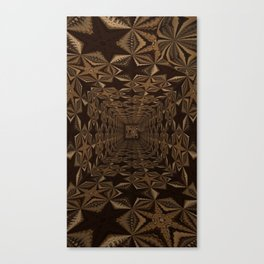 Sequential Baseline Tunnel 1 Canvas Print