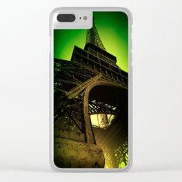 Leica Eiffel Tower Clear iPhone Case