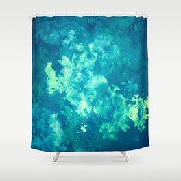 Water Geese Shower Curtain