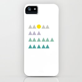 Mom, Ma, Mama, Mam vintage mountains iPhone Case