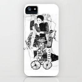 thinking-transport iPhone Case