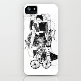 thinking-transport iPhone Case