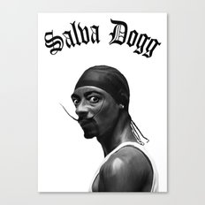 Salva Dogg Canvas Print