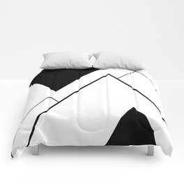 Minimal Mountains Comforters