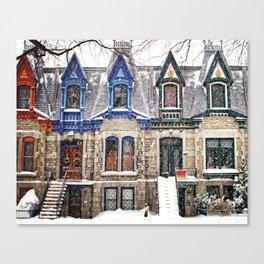 The Enchanting Winter Canvas Print