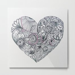 All you need is... Metal Print
