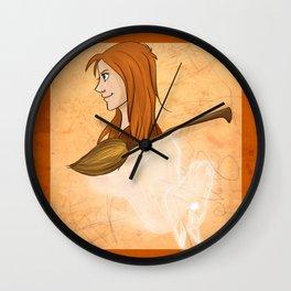 Ginny Weasley Wall Clock