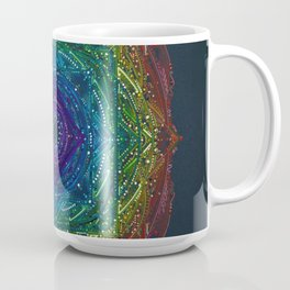 Colorful Chakra Mandala Coffee Mug
