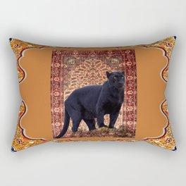 Bagheera - Rudyard Kiplings Jungle Book Rectangular Pillow