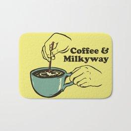 Coffee & Milkyway Bath Mat