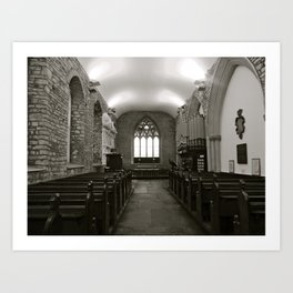 Irish Church Art Print