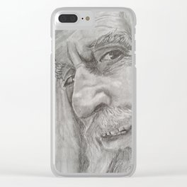 Saroumane Clear iPhone Case