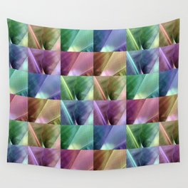 Banana Leaves Quilt Wall Tapestry