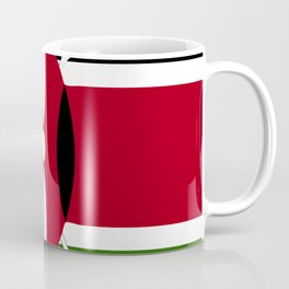 Kenya flag emblem Coffee Mug