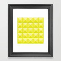 Studs - Neon Framed Art Print