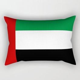 United Arab Emirates country flag Rectangular Pillow