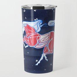 Cross-Section of a Unicorn Travel Mug