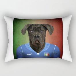 Worldcup 2014 : Italy - Cane Corso Rectangular Pillow