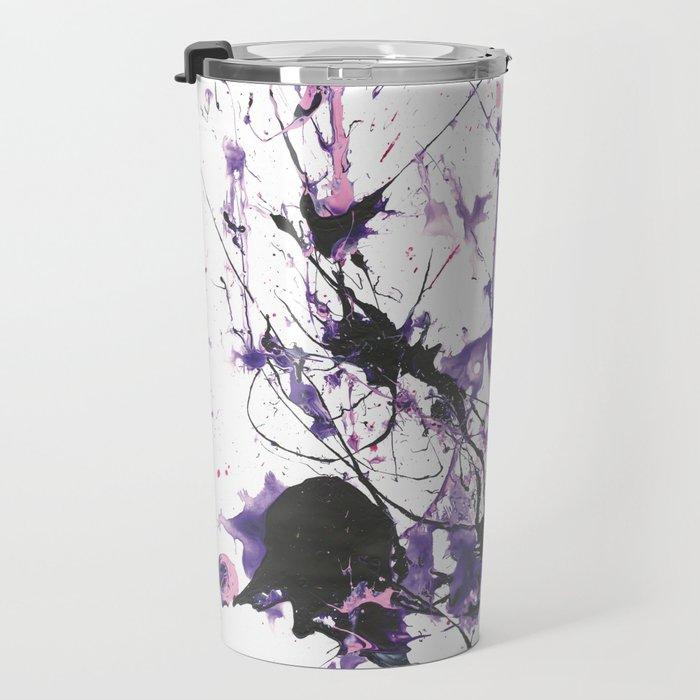 Violet Fire Travel Mug