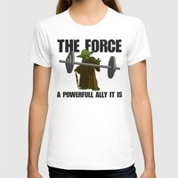 fitness T-shirts featuring Force Fitness by Niels Revers Design