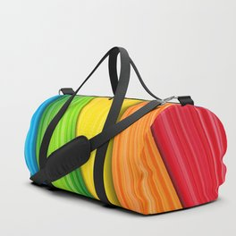 Colorful Rainbow Duffle Bag