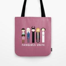 Fangirls Unite Tote Bag