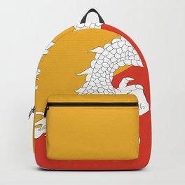Bhutanese flag Patriotic Bhutan Flag Backpack