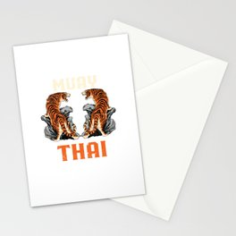 Muay Thai Stationery Cards