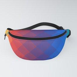 Rainbow geometric pattern Fanny Pack