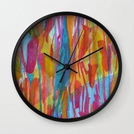 Petal Play Wall Clock