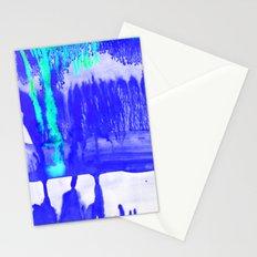Dip Dye Ultramarine Stationery Cards