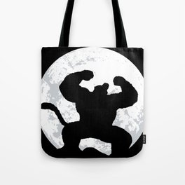 Night Monkey Tote Bag