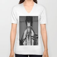 edward scissorhands V-neck T-shirts featuring Edward Scissorhands by ururuty
