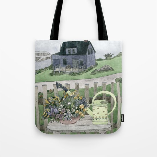 Cottage at the Sea Tote Bag