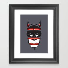 Defrag Man Framed Art Print