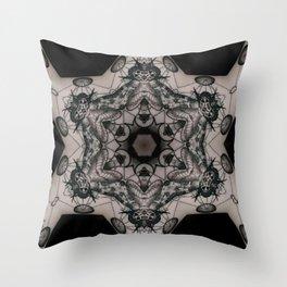 Tattoo mandala Throw Pillow