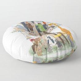 little playhouse Floor Pillow