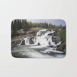Rushing Waterfall Bath Mat