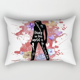 Buffy Quote Rectangular Pillow