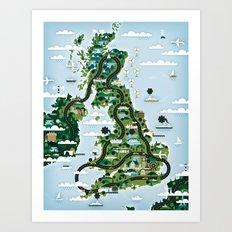 Good Toys UK Art Print