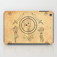 tatoo iPad Cases featuring • old tatoo comix • by Jprojectlab